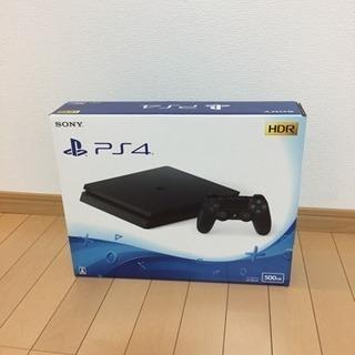 【値下げ】未開封 PS4 500GB