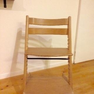 木の椅子 北欧〜STOKKE〜 無垢色
