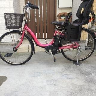 ★子乗せ対応★電動自転車 ヤマハ パスナチュラ ピンク 中古