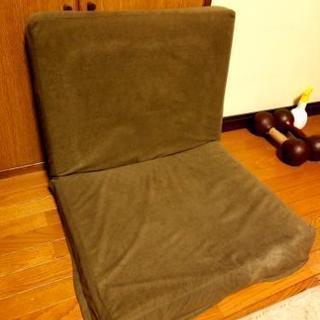 無印の高さ調節機能付き一人用ソファ