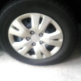 タイヤ交換します