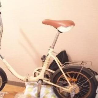 16インチ折り畳み自転車