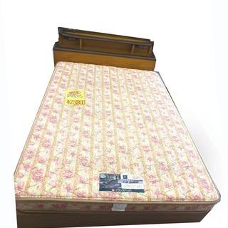 手稲リサイクル 高級フランスベッド ダブルサイズ 収納付き