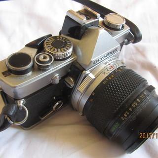 オリンパスの一眼レフカメラOM-1N