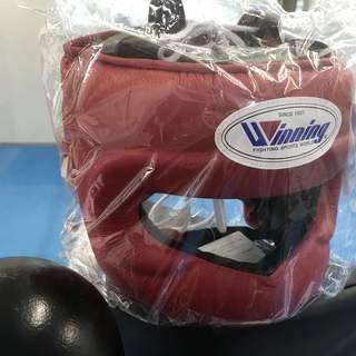 [新品、未使用]ウィニング ボクシング ヘッドギア フルフェイス ...