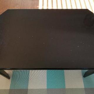 折り畳みテーブル YAMAZEN ブラック
