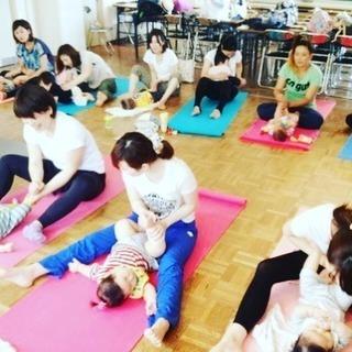 京都清水五条mama&babyのニコニコヨガ♪体験会