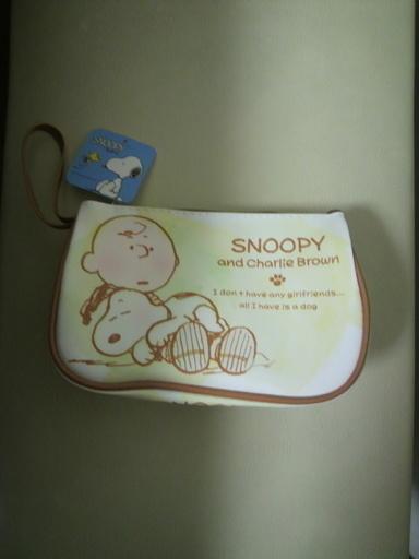 新品Snoopyポーチ (ナナ) 新柴又のバッグ《ポーチ》の中古あげます ...