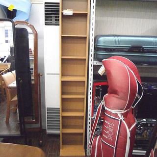 札幌 引き取り スリムタイプ  カラーボックス 8段 すきま収納 本棚