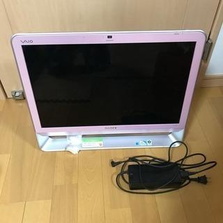 ジャンク sony デスクトップ一体型パソコン