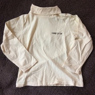 90 コムサイズム タートルネックシャツ