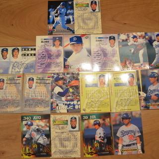 野球カード(中日黄金時代)
