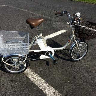 電動アシスト3輪自転車