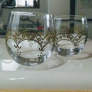(超美品)ガラスのペアグラス