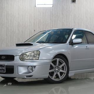 【誰でも車がローンで買えます】H15 インプレッサ WRX シルバ...