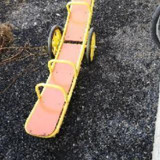 シーソー タイヤ付き 移動可能
