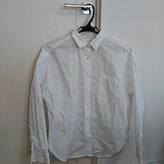 「白シャツ ロング 無印」の画像検索結果