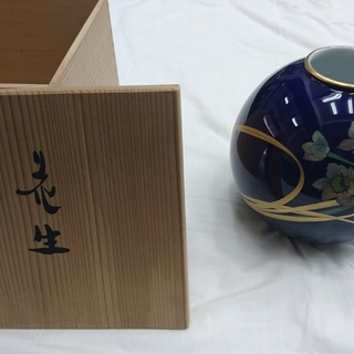 【花瓶】香蘭社 水仙の花瓶【美品】