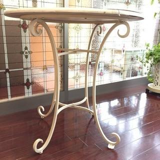 中古 ガーデンテーブル