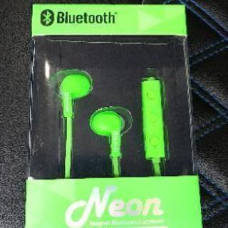 新品!Bluetoothイヤホン① ハンズフリー通話可能!