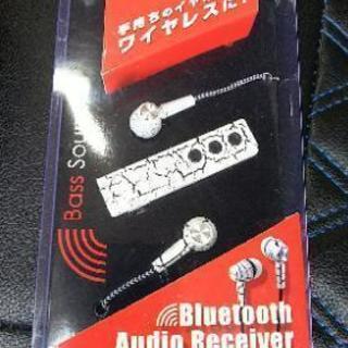 新品!Bluetoothイヤホン② ハンズフリー通話可能!