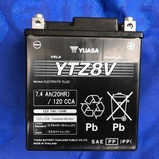 YTZ8V 純正 バッテリー ほぼ新品