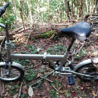 小型折りたたみ自転車