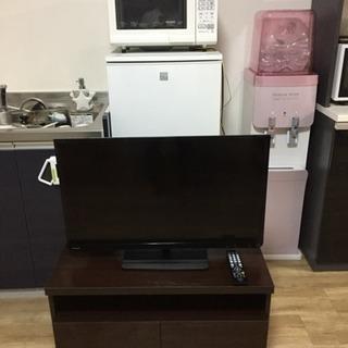 家電セット テレビ 冷蔵庫 レンジ テーブル