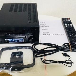 ほぼ新品【DENON】Hi-FiミニコンポCDレシーバー RCD-M40
