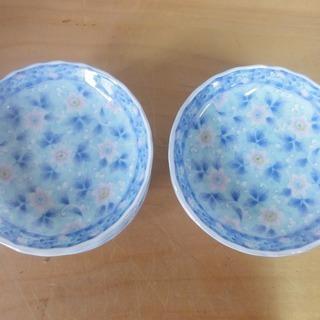 3c181 和皿 小皿 花柄 10枚セット 新品 引取限定