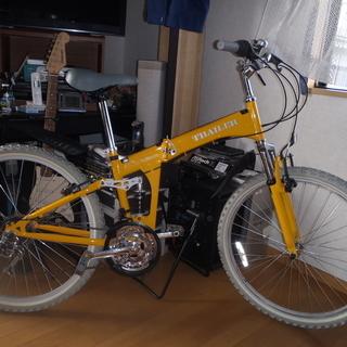 折りたたみマウンテンバイク