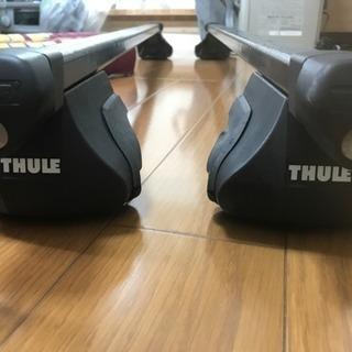 THULEスーリー ルーフレール車用キャリアバーセット