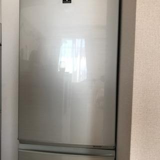 【使用感ほぼナシ!】SHARPプラズマクラスター冷蔵庫