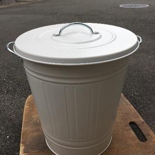 💕IKEA ふた付き容器 ホワイト 40L ゴミ箱