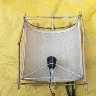 ☀️ バリ アジアン 照明 インテリア  壁掛け - 家具