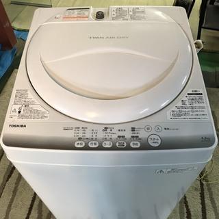 東芝 東芝電気洗濯機 AW-42M 洗濯容量4.2kg 白 ホワイ...