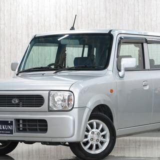 【誰でも車がローンで買えます】H18 アルトラパン X 白  完全...
