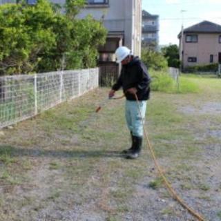 ■■■■■福岡市早良区 雑草の除草剤散布【福岡グリーン 早良営業所】