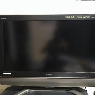 シャープ 液晶テレビ 37V  ジャンク