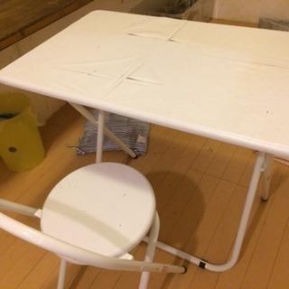 椅子  机  セット