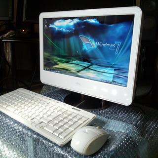 一体型デスクトップ 富士通 FMV-DESKPOWER F/B50③ Windows7 使用時間約1013時間 - 売ります・あげます