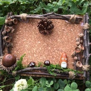 どんぐりで作る楽しい自然小物作り】@やまゆりday
