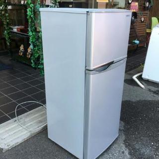 シャープ 13年製 2ドア 冷凍冷蔵庫 掃除済み SJ-H12W 118L  - 犬山市
