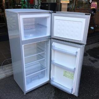 シャープ 13年製 2ドア 冷凍冷蔵庫 掃除済み SJ-H12W 118L  − 愛知県