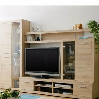 新品✨テレビボード、テレビ台(壁面収納)