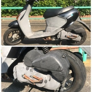 【格安】原付 スズキ レッツ4  黒色 4st - バイク