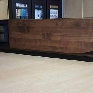 【美】木製テレビ台ダークブラウン定価27500国産