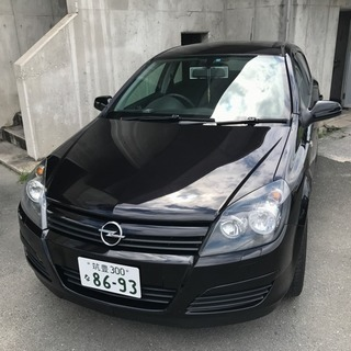 オペルアストラH コミコミ6万円 車検11/30迄