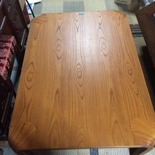 値下げ 天童木工 乾三郎 座卓 ローテーブル 美品