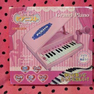 【新品未開封】マイク付 グランドピアノ おもちゃ